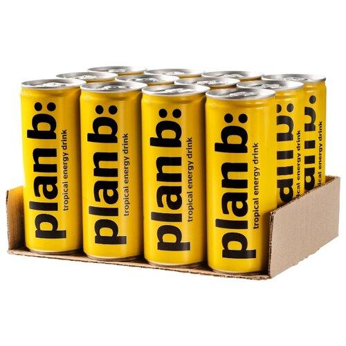 Фото - Энергетический напиток Plan B: Тропик, 0.25 л, 12 шт. энергетический напиток solar power 0 45 л 6 шт