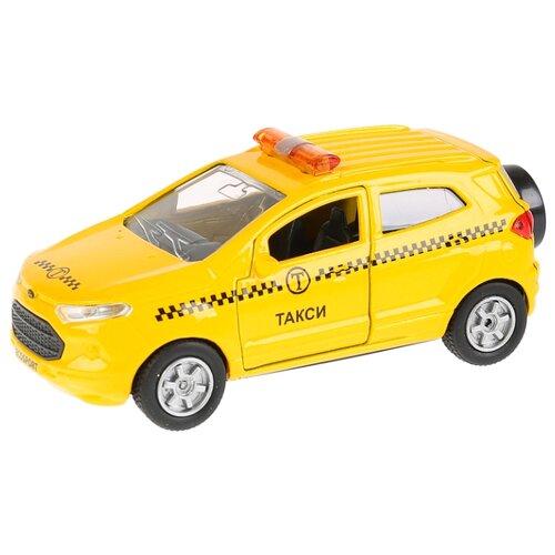 Купить Легковой автомобиль ТЕХНОПАРК Ford Ecosport (SB-18-21-T-WB) 12 см желтый, Машинки и техника