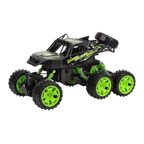 Внедорожник Пламенный мотор Краулер Штурм (870429/870430) 33 см зеленый/черный внедорожник пламенный мотор краулер штурм 870427 28 см черный зеленый