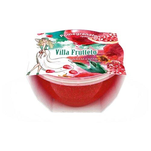 Villa Frutteto Джем-скраб для душа Гранат, 220 мл