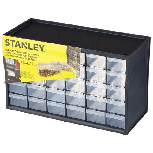 Органайзер STANLEY 1-93-980 36.5x15.5x22.5 см черный органайзер stanley 30 отделений пластмассовый 1 93 980