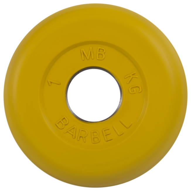 Диск MB Barbell Стандарт MB-PltC31 1 кг