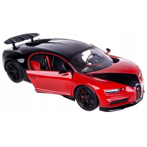 Купить Легковой автомобиль Bburago Bugatti Chiron Sport (18-11044) 1:18 25.5 см красный/черный, Машинки и техника