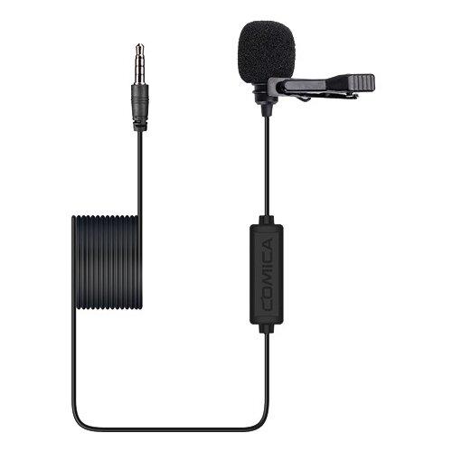 Микрофон петличный CoMica CVM-V01SP 6м