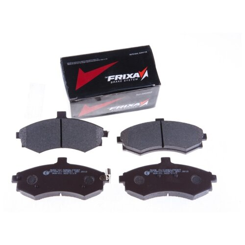 Дисковые тормозные колодки передние Frixa FPK17 для Hyundai Elantra, Hyundai Matrix, Kia Cerato (4 шт.) hyundai matrix расход топлива