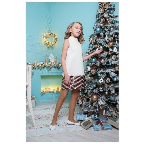 Купить Платье Ladetto размер 34-140, кремовый, Платья и сарафаны