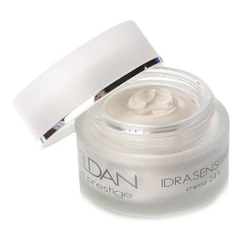 Фото - Eldan Cosmetics Le Prestige Idrasensitive 24-hour Cream Крем для чувствительной кожи лица, 50 мл eldan cosmetics le prestige aha smoothing cream крем ана 8% для лица 50 мл