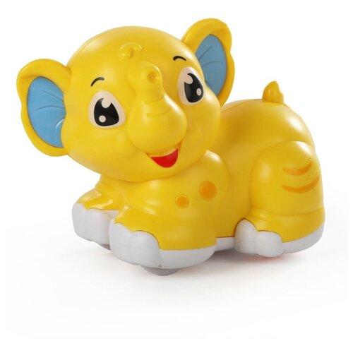Фото - Развивающая игрушка Ути-Пути Покатушка погремушка Слоненок желтый roxy kids rbt20014 игрушка развивающая слоненок сквикер пищалка внутри размер 18 см