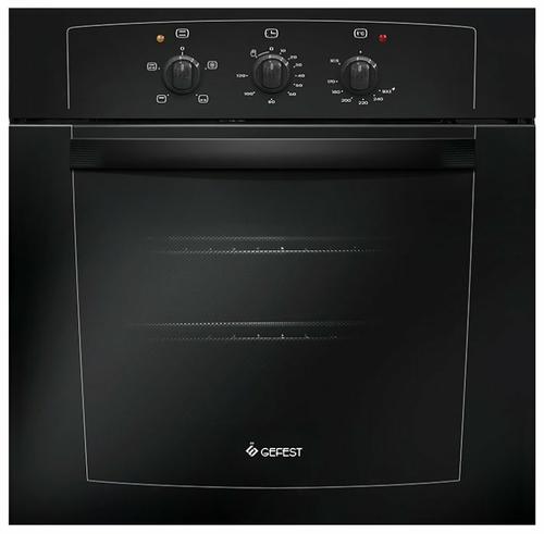 Духовой шкаф газовый Gefest ДГЭ 601-01 А черный