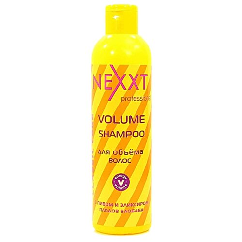 NEXXT шампунь Professional Classic Care Volume для объема волос 250 мл nexxt professional classic care volume шампунь для объема волос 1000 мл