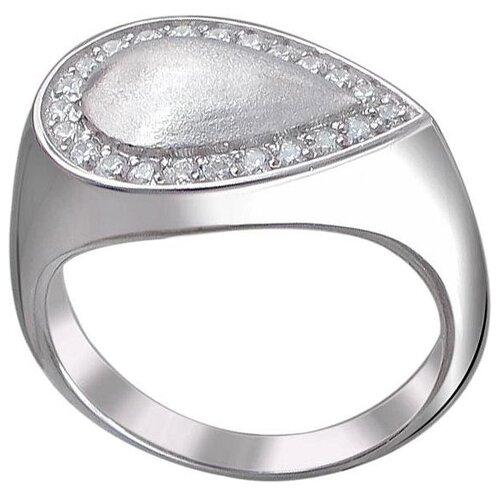 Эстет Кольцо с 23 фианитами из серебра 01К157523, размер 16.5 ЭСТЕТ