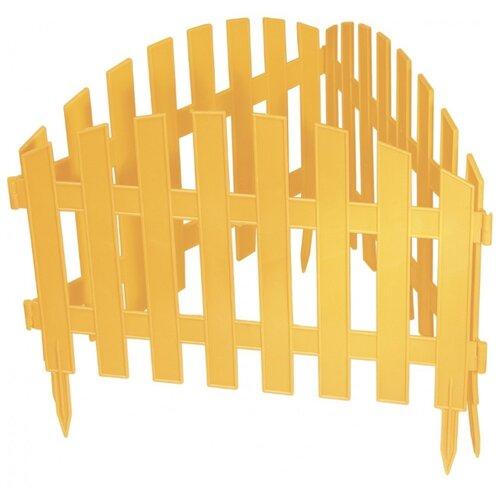 Забор декоративный PALISAD Винтаж, желтый, 3 х 0.28 м забор декоративный винтаж 28 х 300 см терракот россия palisad
