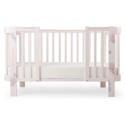 Купить Набор для увеличения колыбели Happy Baby Mommy Love 95029 pink, Колыбели и люльки