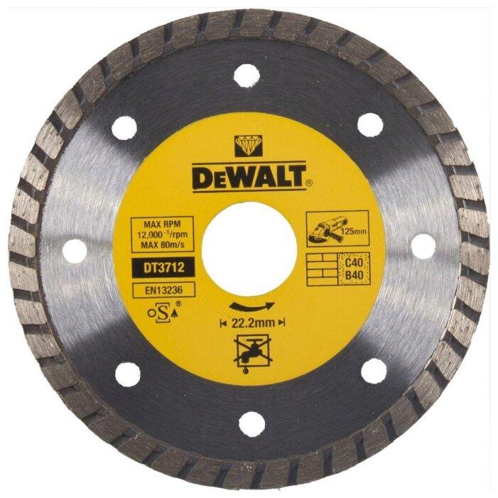 Круг отрезной Dewalt 125х1.2х22 dt42340zqz