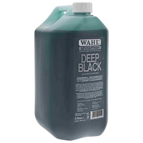 Фото - Шампунь MOSER Wahl Deep Black для животных темных окрасов 5 л шампунь moser wahl dirty beastie концентрированный суперочищающий для мелких животных 500мл