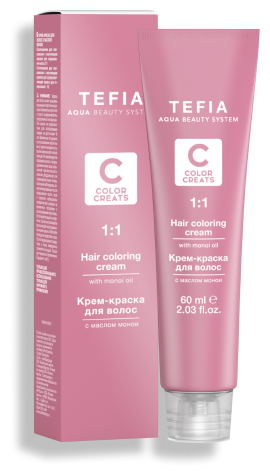 Tefia Color Creats крем краска для волос