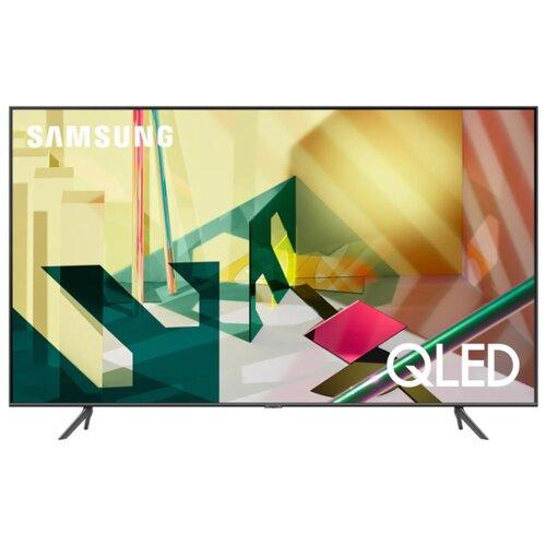 Купить Телевизор QLED Samsung QE55Q70TAU 55 (2020) серый титан