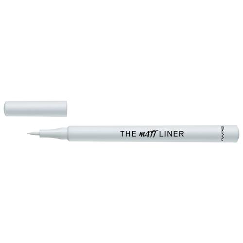 цена на BeYu Матовая подводка-фломастер для глаз The Matt Liner, оттенок №6 White Smoke