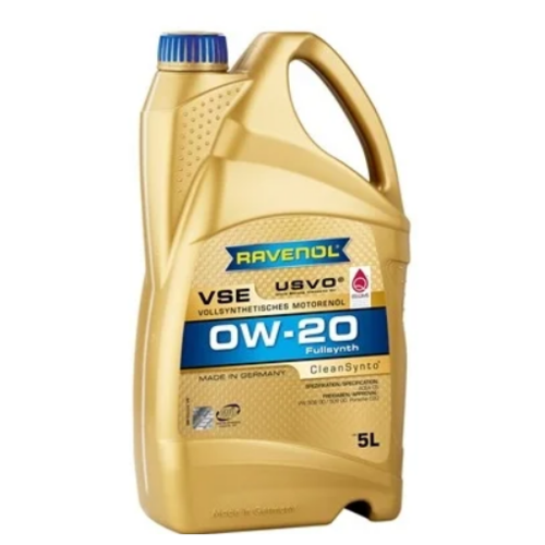 Моторное масло Ravenol VSE 0W-20 5 л моторное масло mazda dexelia supra 0w 20 5 л