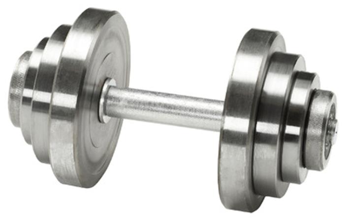 Купить Гантель разборная Атлант-Спорт металлическая разборная 16 кг серебристый по низкой цене с доставкой из Яндекс.Маркета (бывший Беру)