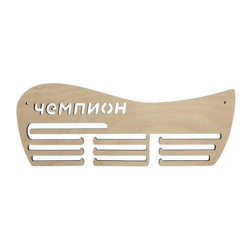 Купить Astra & Craft Деревянная заготовка для декорирования подвес для медалей Чемпион L-725 береза, Декоративные элементы и материалы