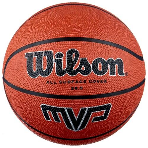 цена на Баскетбольный мяч Wilson MVP WTB1418XB06, р. 6 коричневый