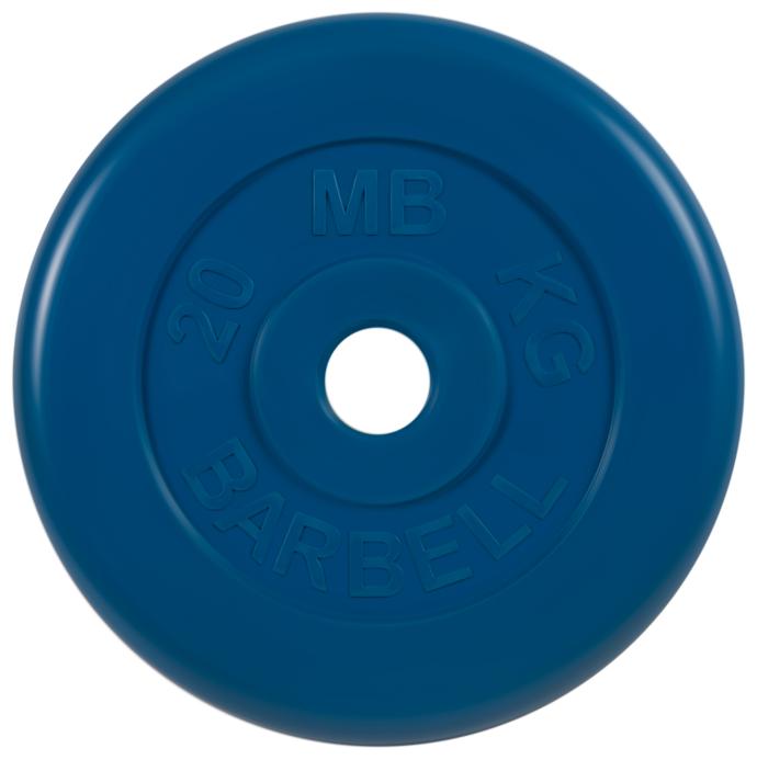 Диск MB Barbell Стандарт MB-PltC51 20 кг