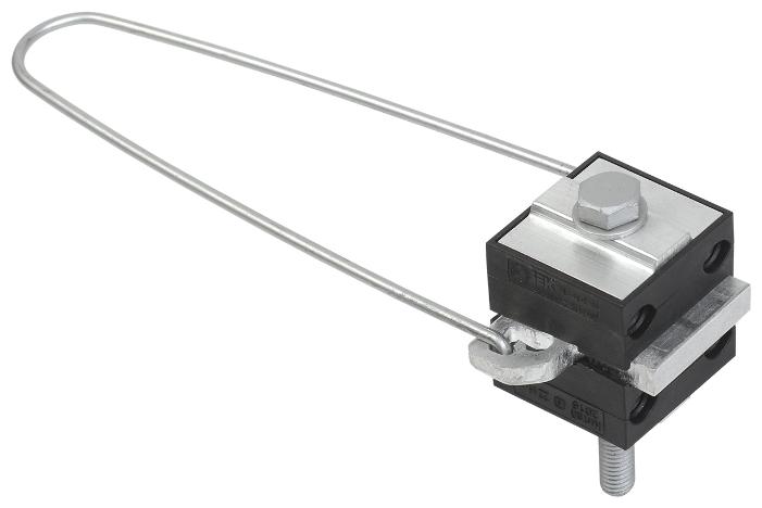 Зажим для натяжения кабеля/троса IEK UZA-14-D16-D35