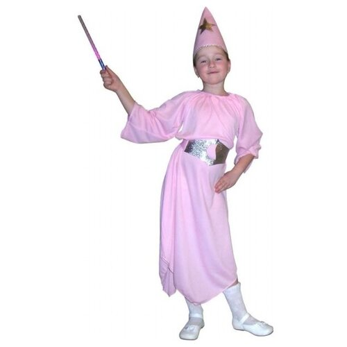 Купить Костюм SNOWMEN Фея Е3463, розовый, размер 7-10 лет, Карнавальные костюмы