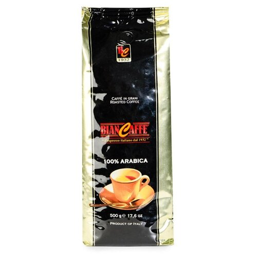 цена Кофе в зернах Biancaffe 100% Arabica, арабика, 500 г онлайн в 2017 году