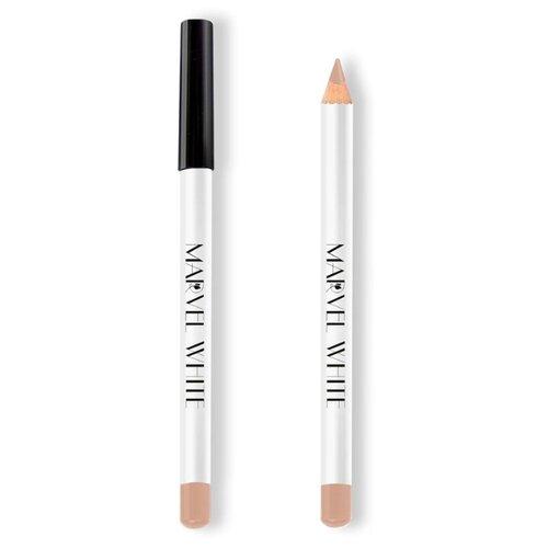 Купить Marvel Cosmetics White Карандаш для губ 420 HAVANA (Заварной Крем)