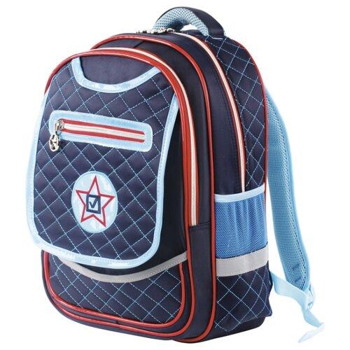 Купить BRAUBERG рюкзак Кадет (226360), синий/голубой, Рюкзаки, ранцы