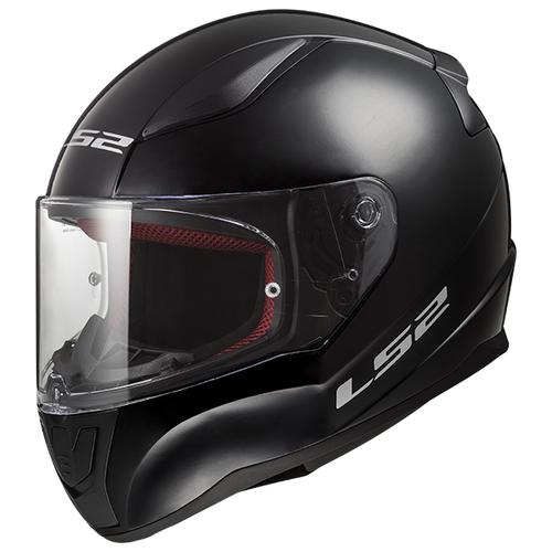 Шлем LS2 FF353 RAPID SINGLE MONO Gloss Black (XXXL, Gloss Black)