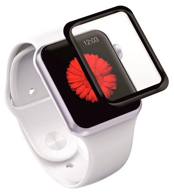 Защитное стекло Red Line для Apple Watch S4 44 мм Full screen (3D) с рамкой