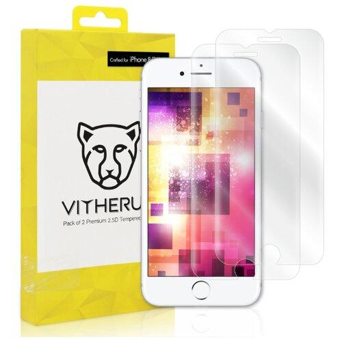 Защитное стекло Vitherum 2.5D GOLD для Apple iPhone 8/7/6S/6 прозрачный аксессуар защитное стекло luxcase 0 33mm для apple iphone 8 7 6 6s 82061