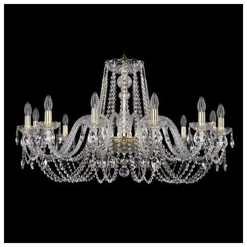 Фото - Люстра Bohemia Ivele Crystal 1402 1402/12/360/G, E14, 480 Вт люстра bohemia ivele crystal 7201 72301 12 360 b g e14