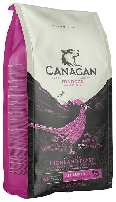 Корм для собак Canagan (12 кг) GF Highland Feast all breeds