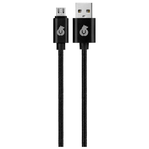 Кабель uBear Cord USB - microUSB (DC03) 1.2 м черный