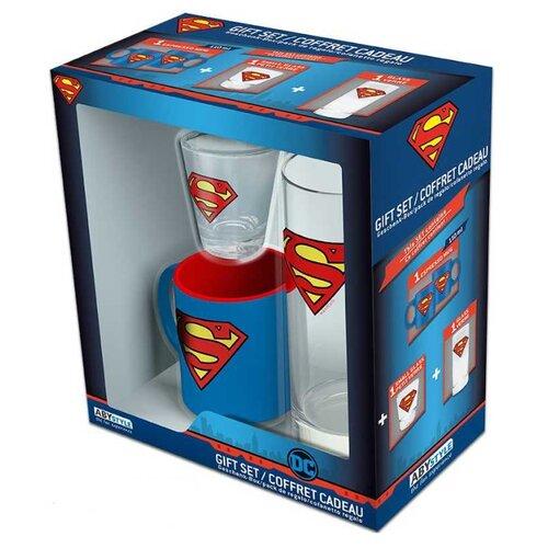 Набор DC Comics: Superman (мини кружка + стакан + рюмка) блокнот abystyle graphic superman abynot005