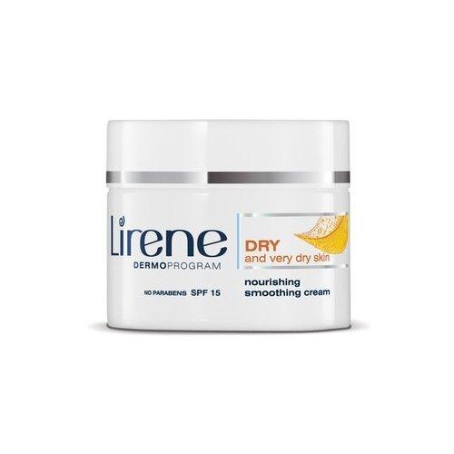 Купить Lirene Здоровая кожа + сухая и очень сухая кожа Питательный разглаживающий крем для лица, 50 мл