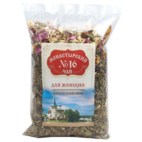 Фото - Чай травяной Крымский чай Монастырский № 16 Для женщин, 100 г чай травяной aroma монастырский 100 г