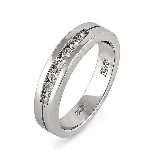 цена на KABAROVSKY Кольцо с 7 бриллиантами из белого золота 21-1011-1000, размер 21