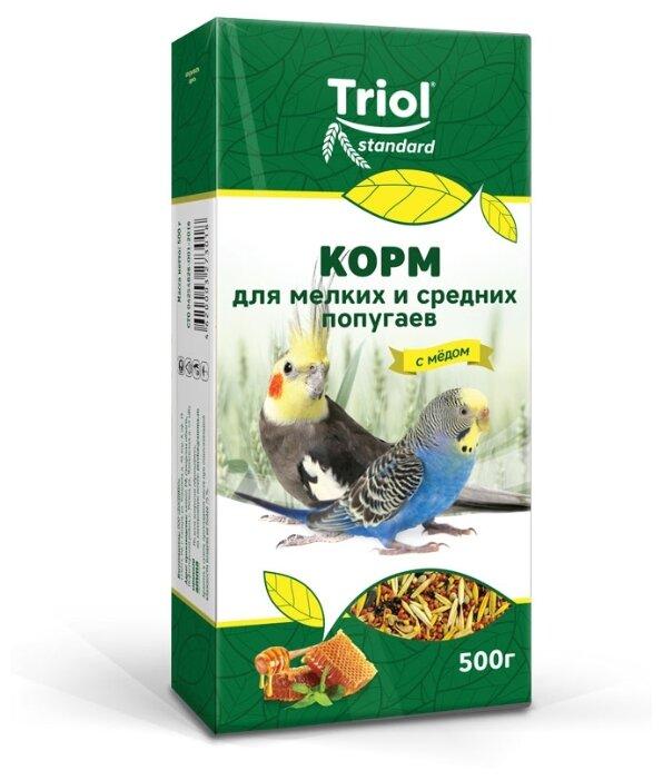 Triol корм Standard с мёдом для мелких и средних попугаев