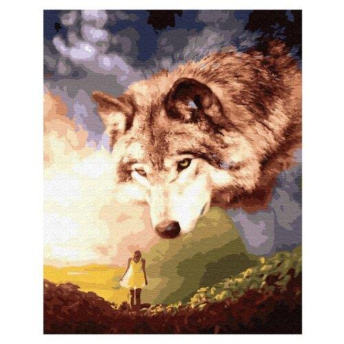 Купить ВанГогВоМне Картина по номерам Гигантский волк 40х50 см (ZX23177), Картины по номерам и контурам