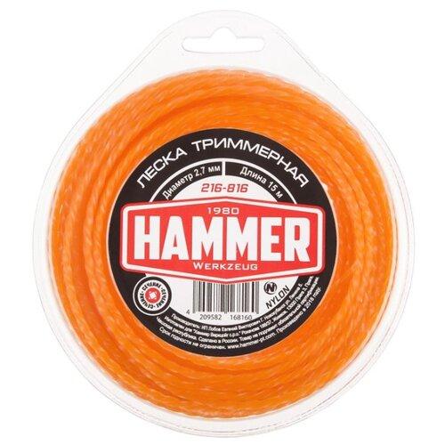 Леска Hammer 216-816 2.7 мм 15 м