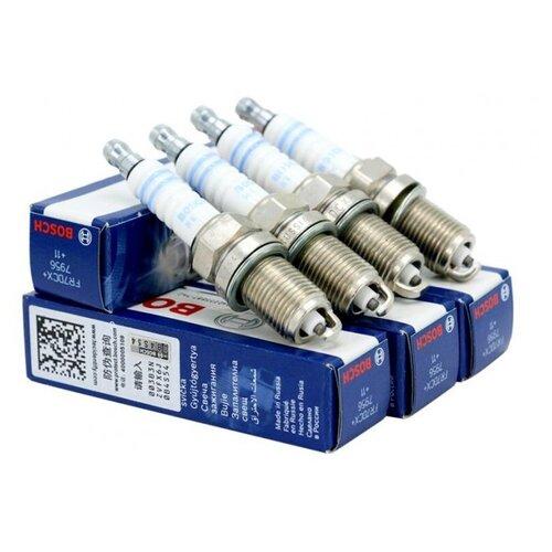 Свеча зажигания Bosch FR7DCX+ 4 шт.