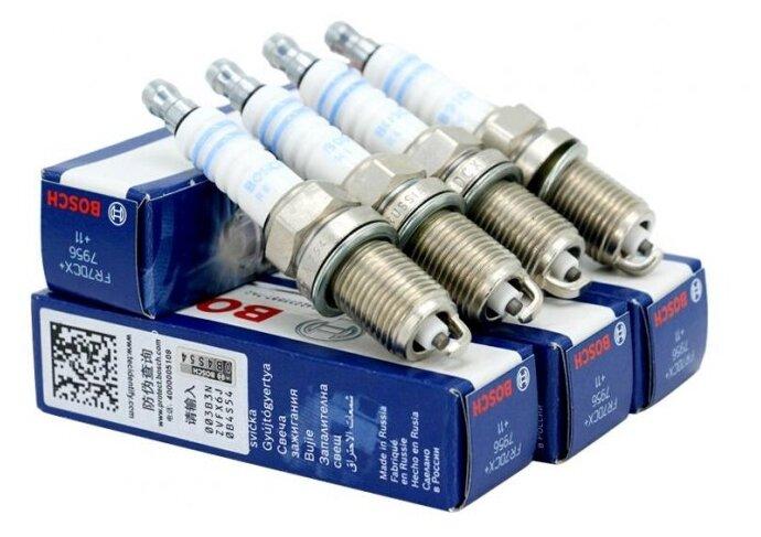 Свеча зажигания Bosch FR7DCX+