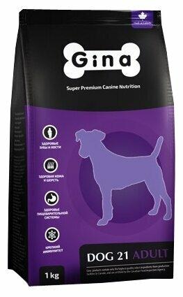 Корм для собак Gina Dog 21 (7.5 кг)