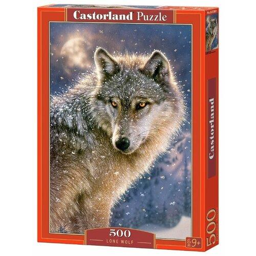 Купить Пазл Castorland Lone Wolf (B-52431), 500 дет., Пазлы