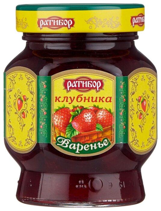 Варенье Ратибор клубника, 400г